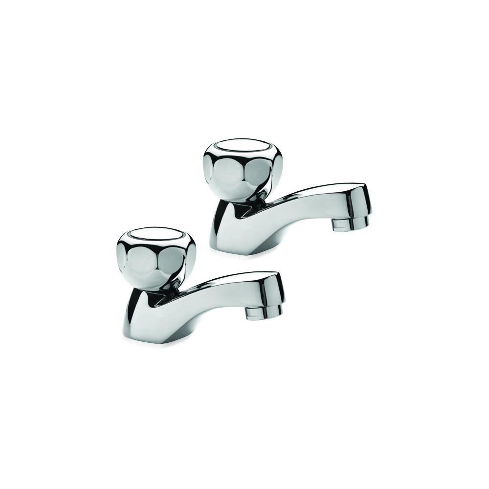 Pair of bathroom taps