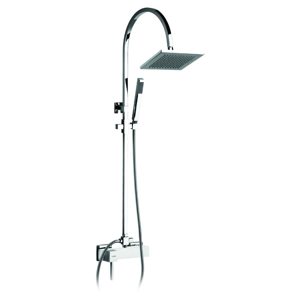 Colonne de douche avec mitigeur de douche et inverseur automatique
