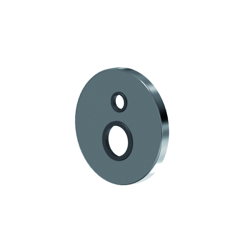 Round shower cover plate with diverter Ø 35 series