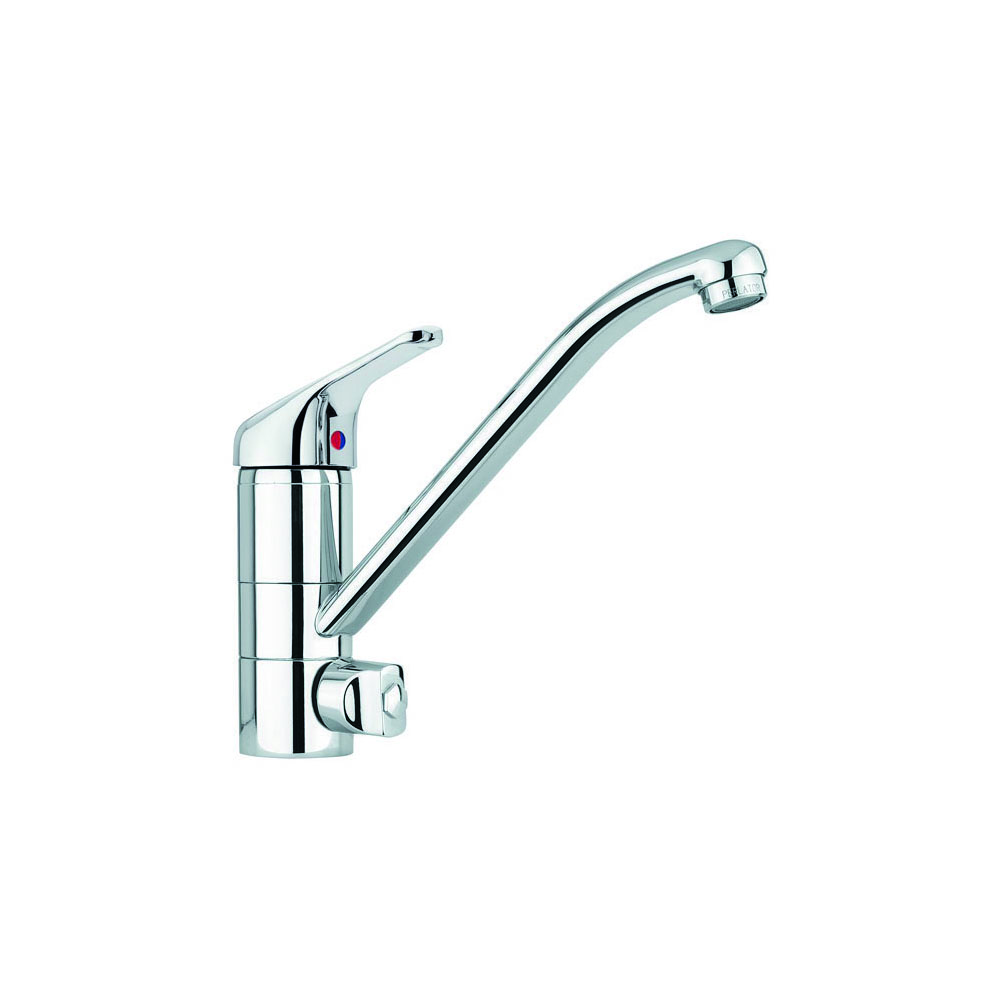 Kitchen faucet with diverter for dishwasher