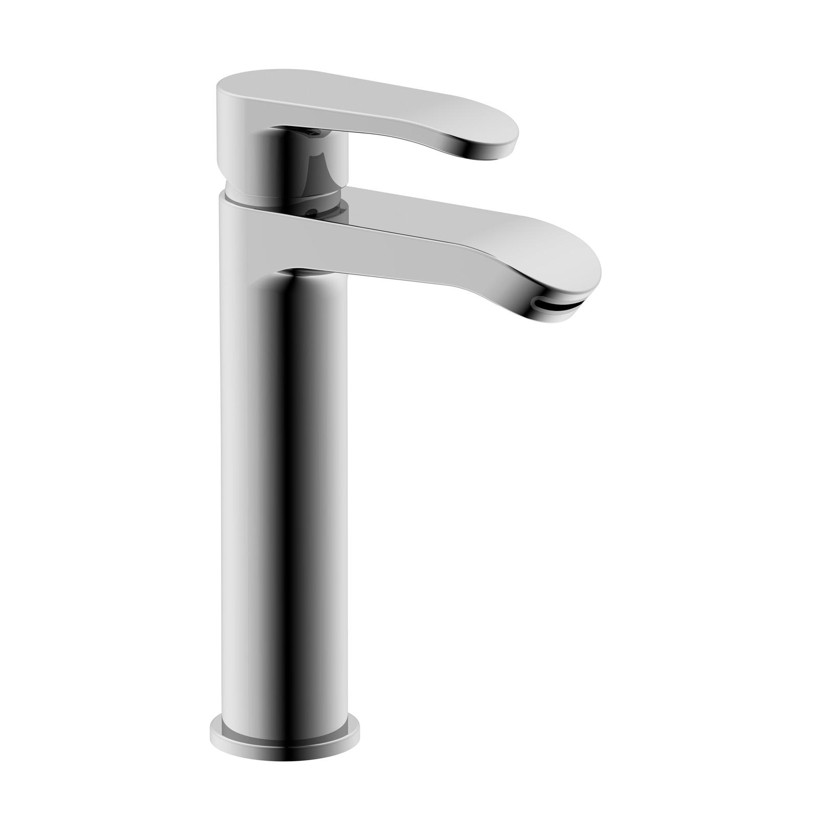 Einhebel-Waschbecken-Mischer mit CLICK-CLACK Entwässerung