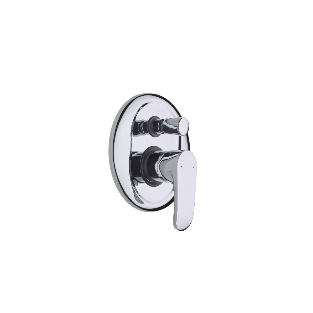 Built-in shower diverter trim