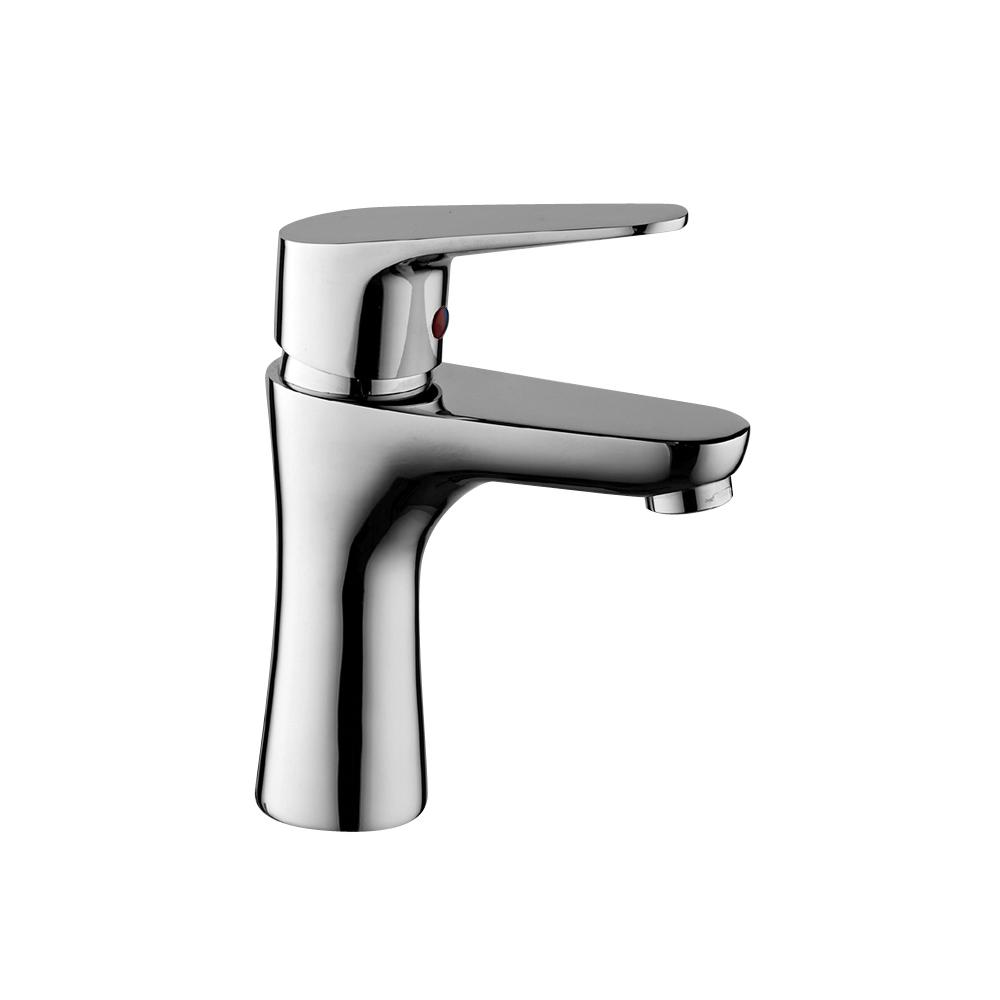 Waschbecken-Mischer mit automatischem Abfluss