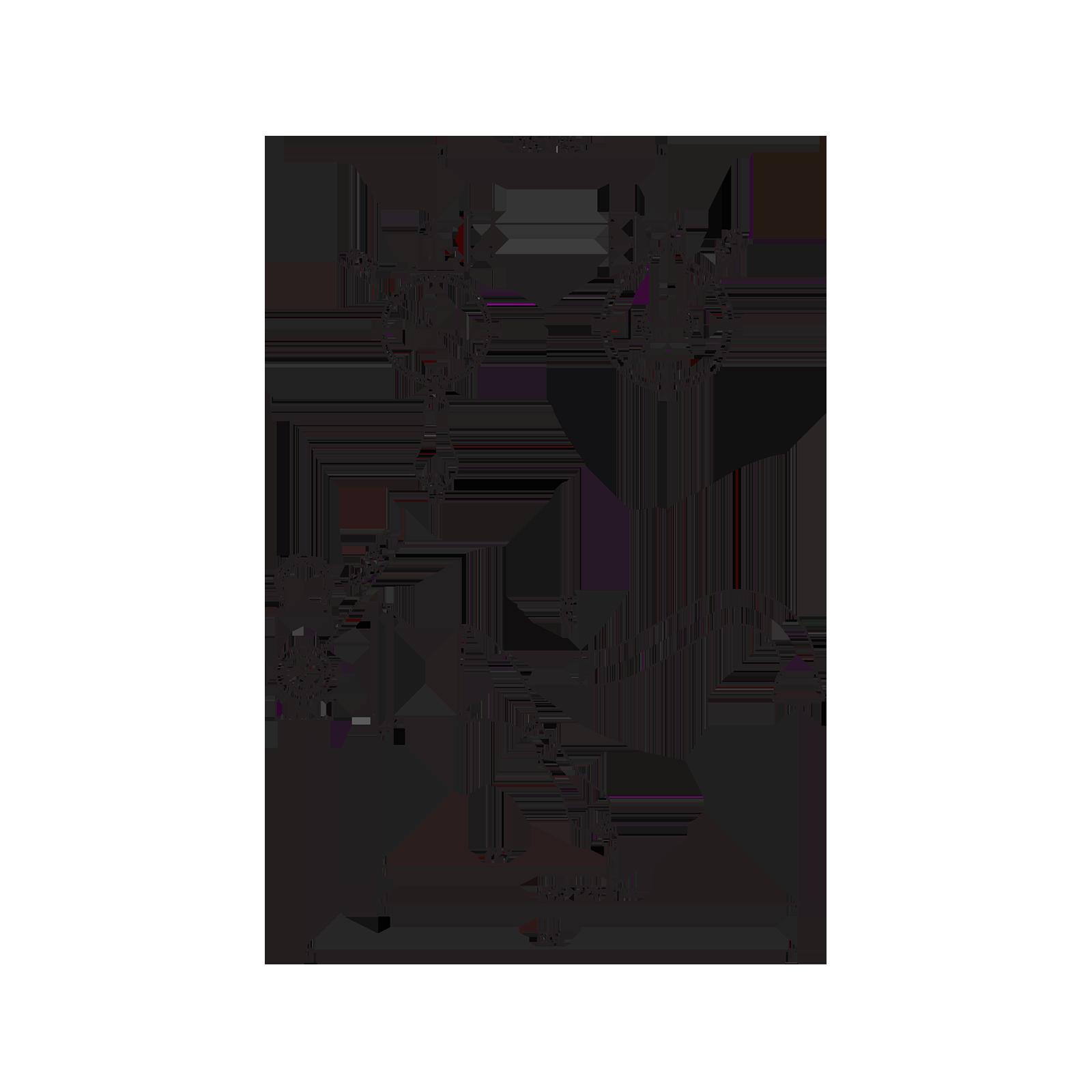 Miscelatore lavabo con cristalli Swarovski