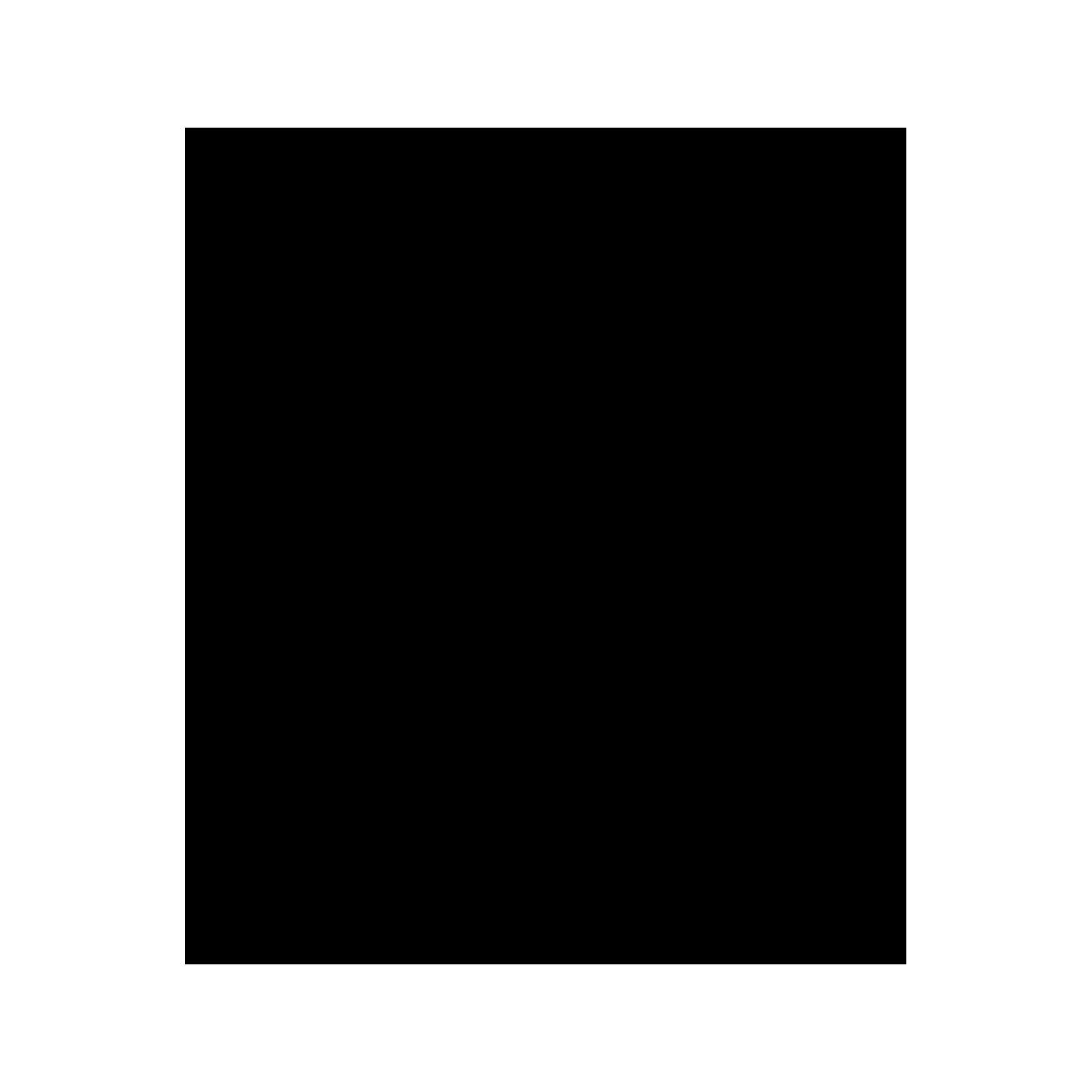 Inverseur carré pour colonne avec support mural et rosace carrée.