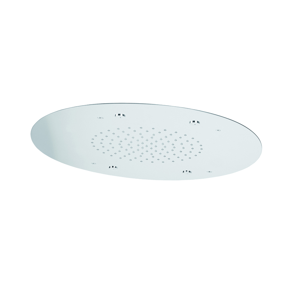 Rainfall and mist shower head