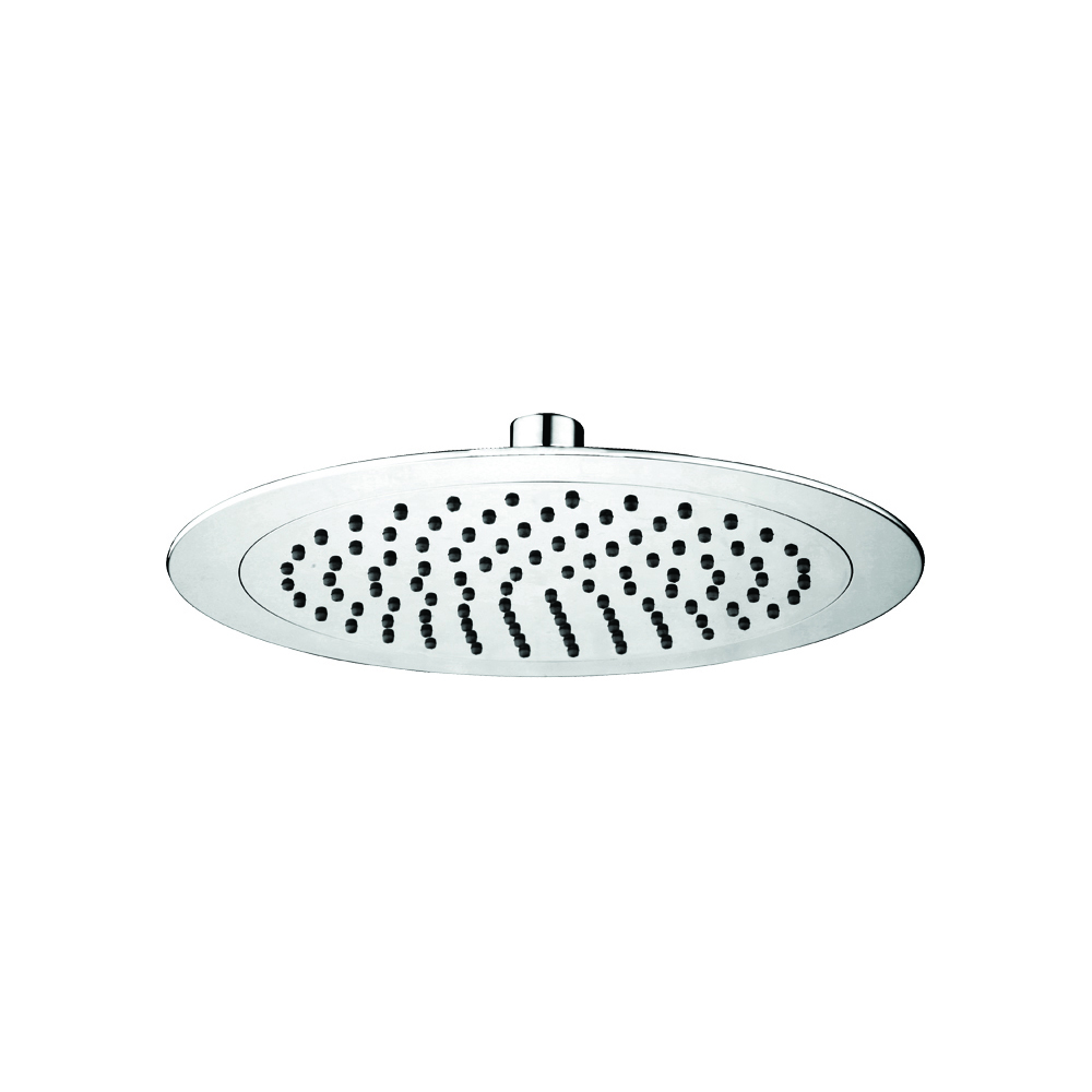 ABS shower head with anti-limescale and led