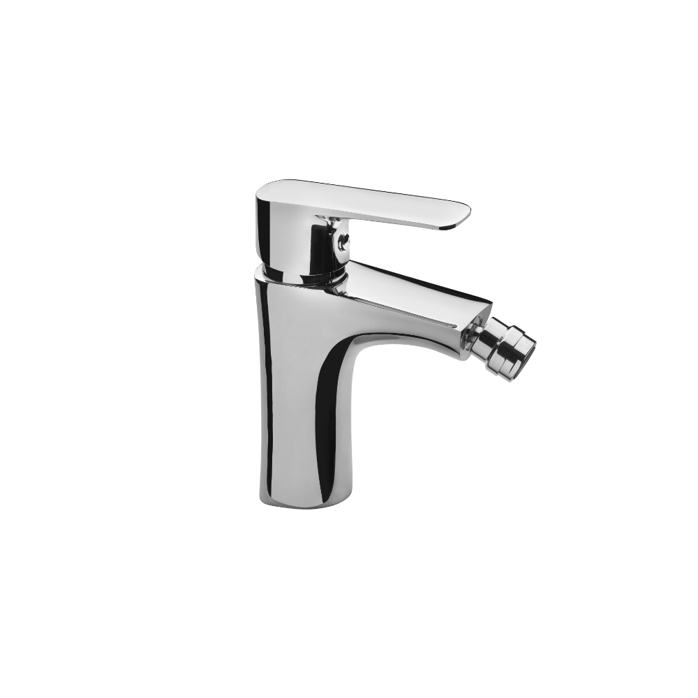 Bidet faucet with pop-up waste