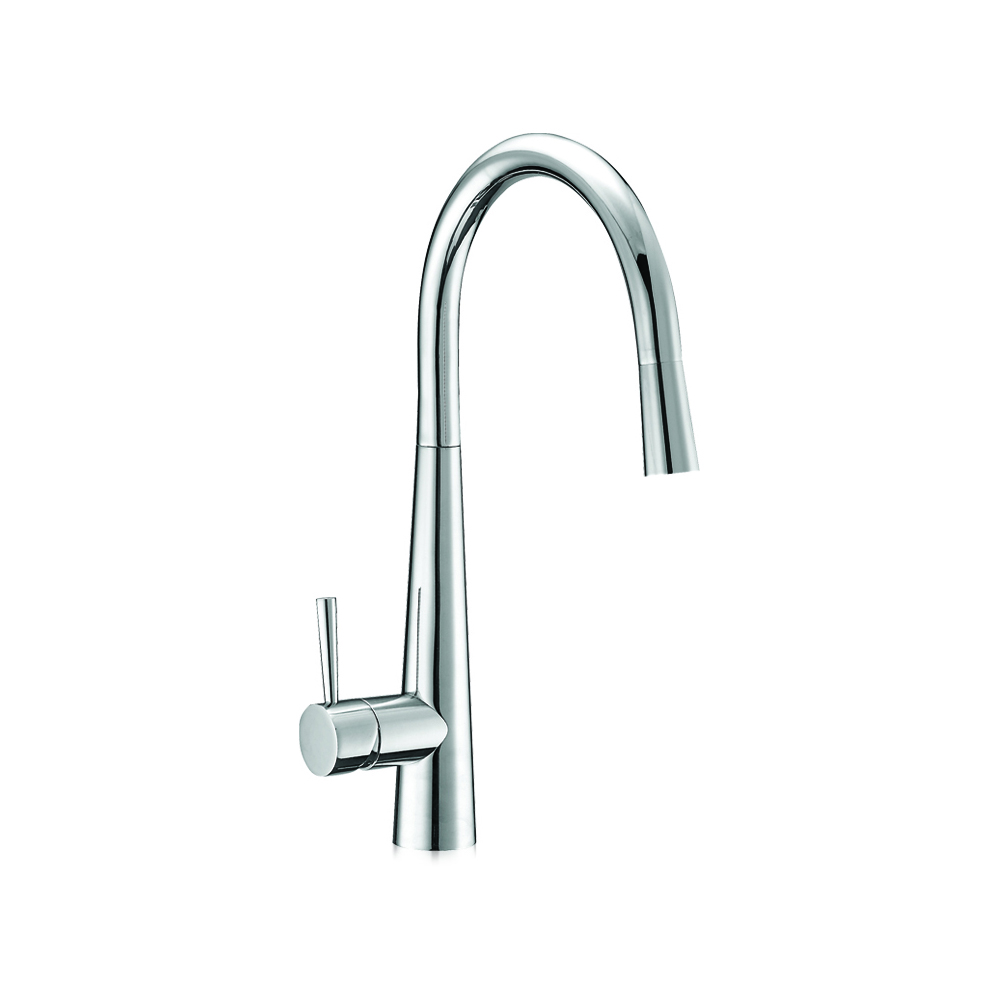 Kitchen faucet with pull-out handshower