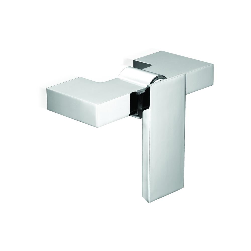 Mitigeur de douche avec raccordement inférieur.
