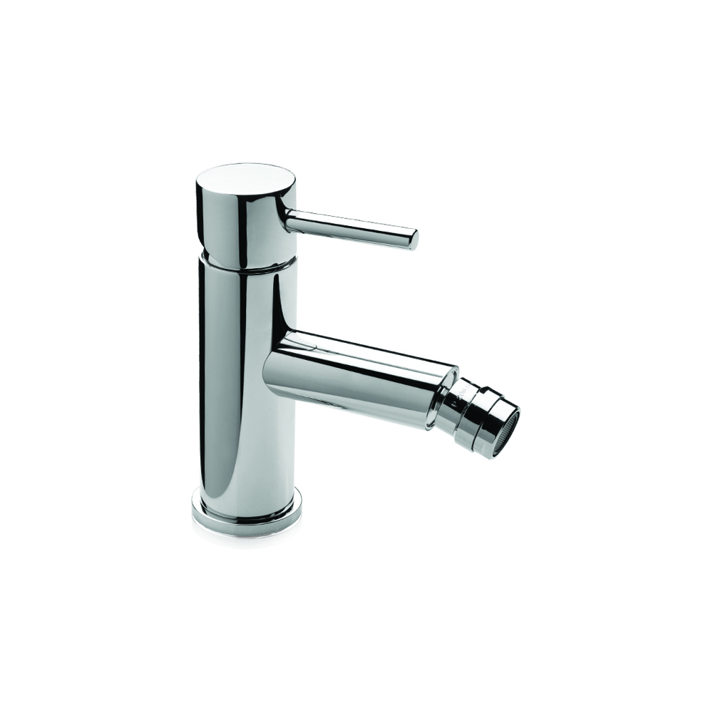 Click clack bidet mixer with waste water