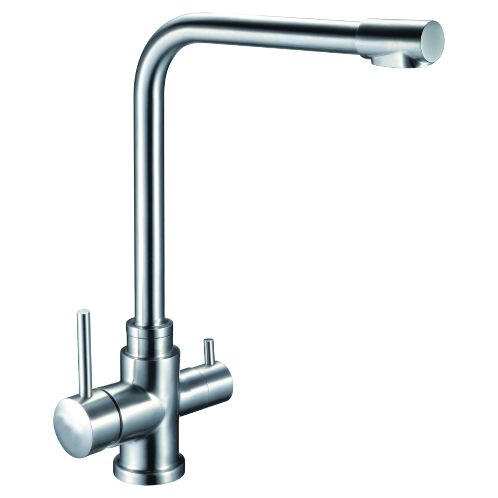 Kitchen tap with diverter