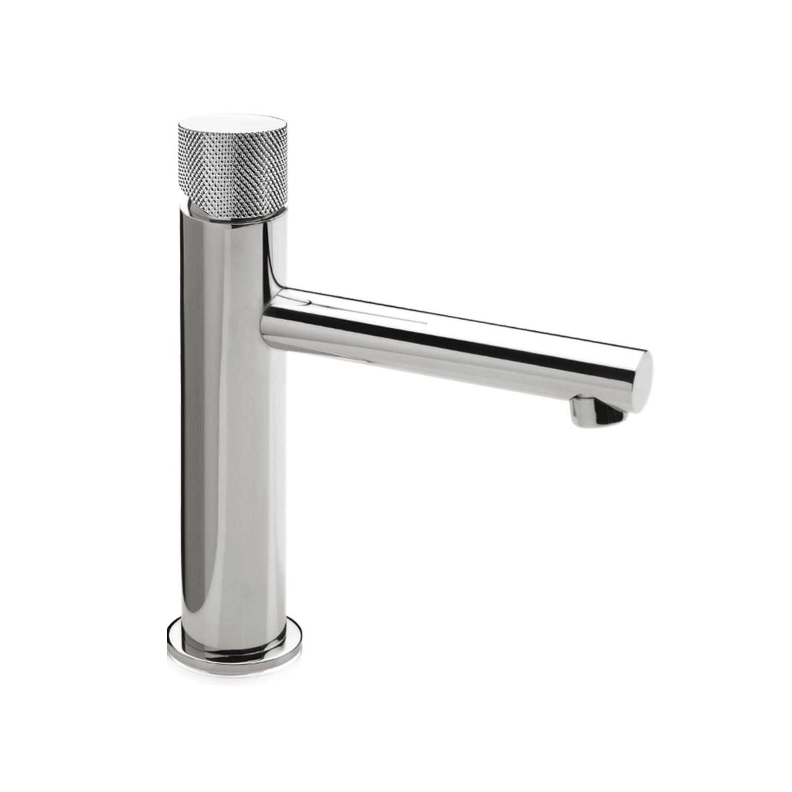 Miscelatore monocomando lavabo alto e scarico CLICK-CLACK