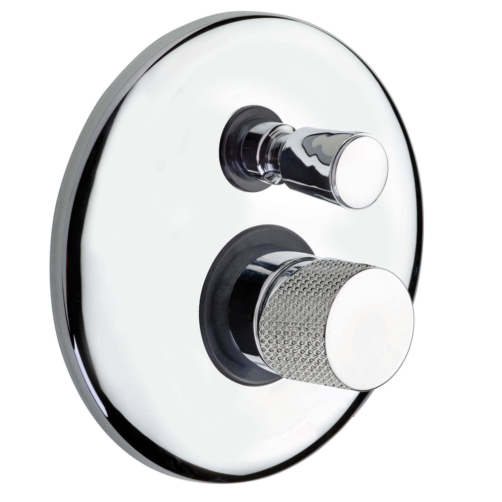 Built-in single control mixer for shower with diverter