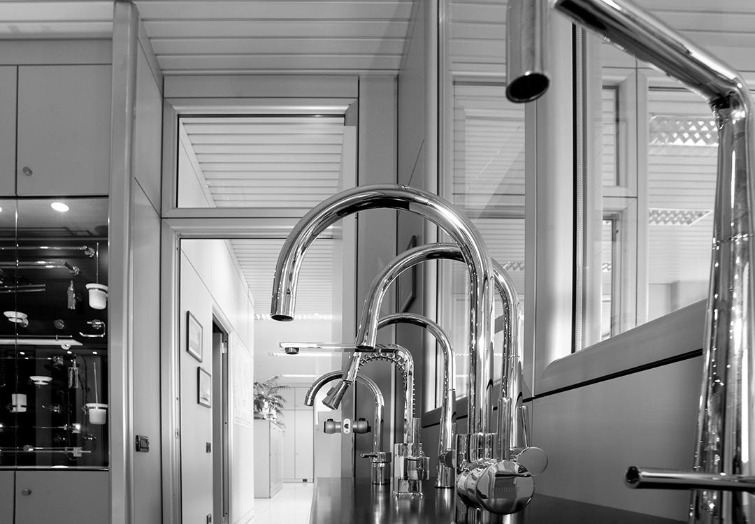 rubinetteria bagno e cucina